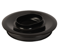 Black blender jar lid MS-0A11941