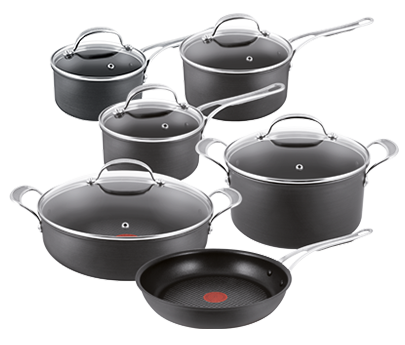 tefal jamie oliver hard anodised induction professional series. Black Bedroom Furniture Sets. Home Design Ideas