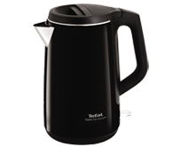 Tefal Safe to Touch Black Kettle