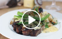 Watch Beef Ribeye & Béarnaise Sauce - Recipes by Warren Nash