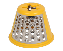 Yellow cheese grating cone SS-194000
