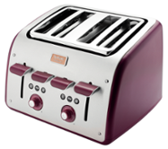 TEFAL MAISON Stainless steel / Pomegranate Red