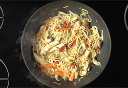 When to add wok