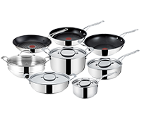 Jamie Oliver by Tefal Stainless Steel Professional Series