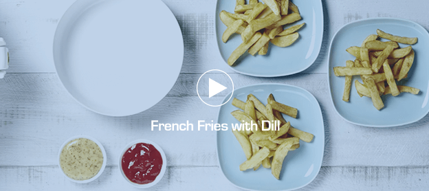 French Fries with Dill