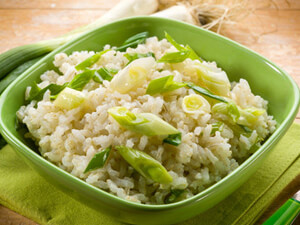 Bacon Leek Risotto