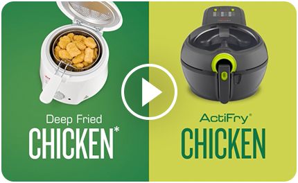 Deep Fried Chicken vs ActiFry Chicken
