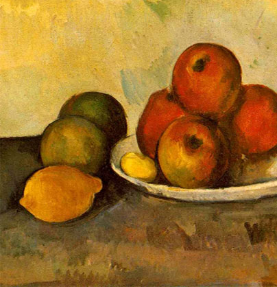 'Still Life with Apples' – Cezanne