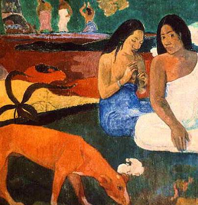 'Arearea (Joyousness)' – Gauguin