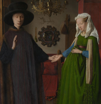 'The Arnolfini Wedding' – Van Eyck