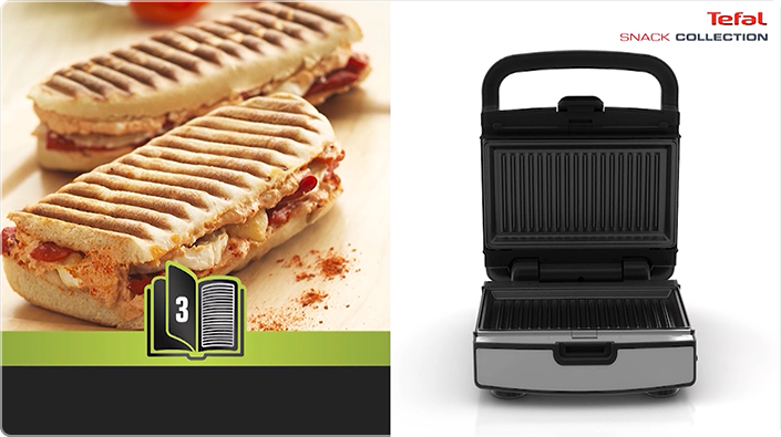 Top Snack Collection | More Than a Waffle Maker - Tefal UY65
