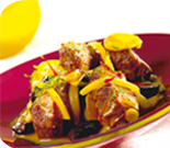 Lamb Tajine with Lemons and Black Olives