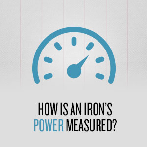 How is an irons power measured
