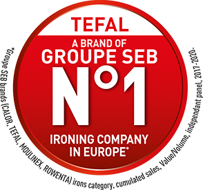 Tefal a brand of Groupe SEB number one ironing company in Europe
