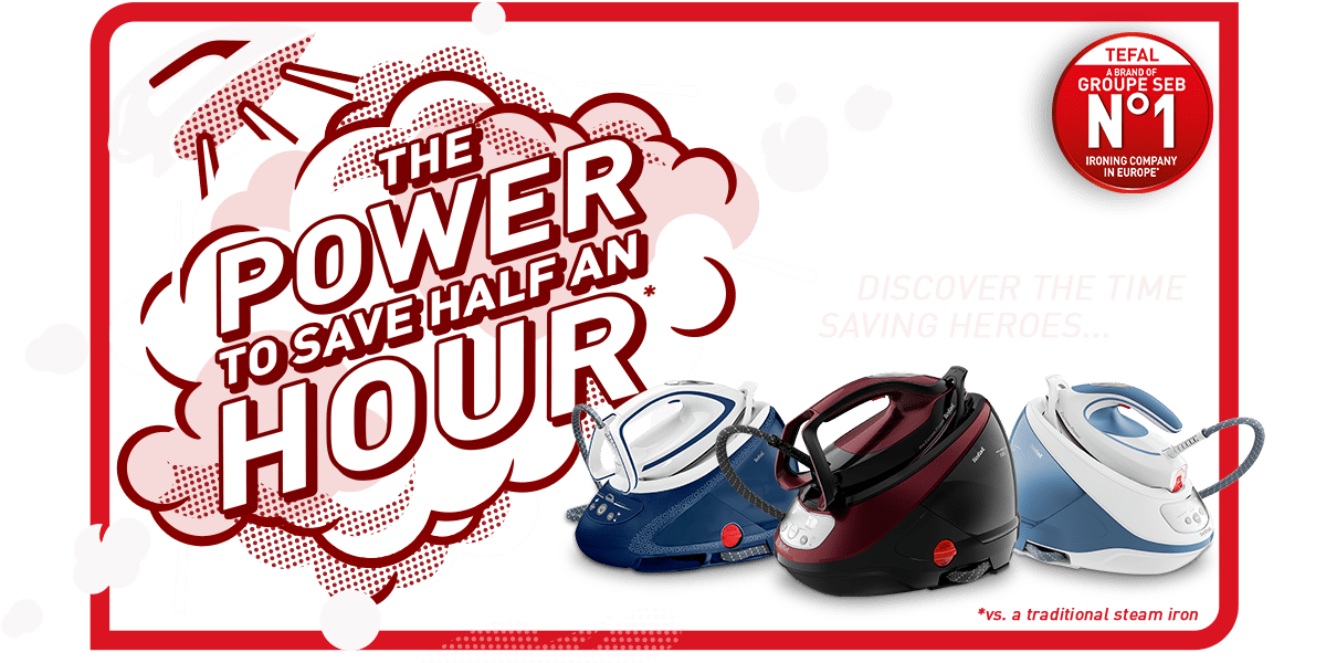 The power to save half an hour vs a traditional steam iron